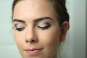 Vervaagd Kajal potlood & liquid eyeliner