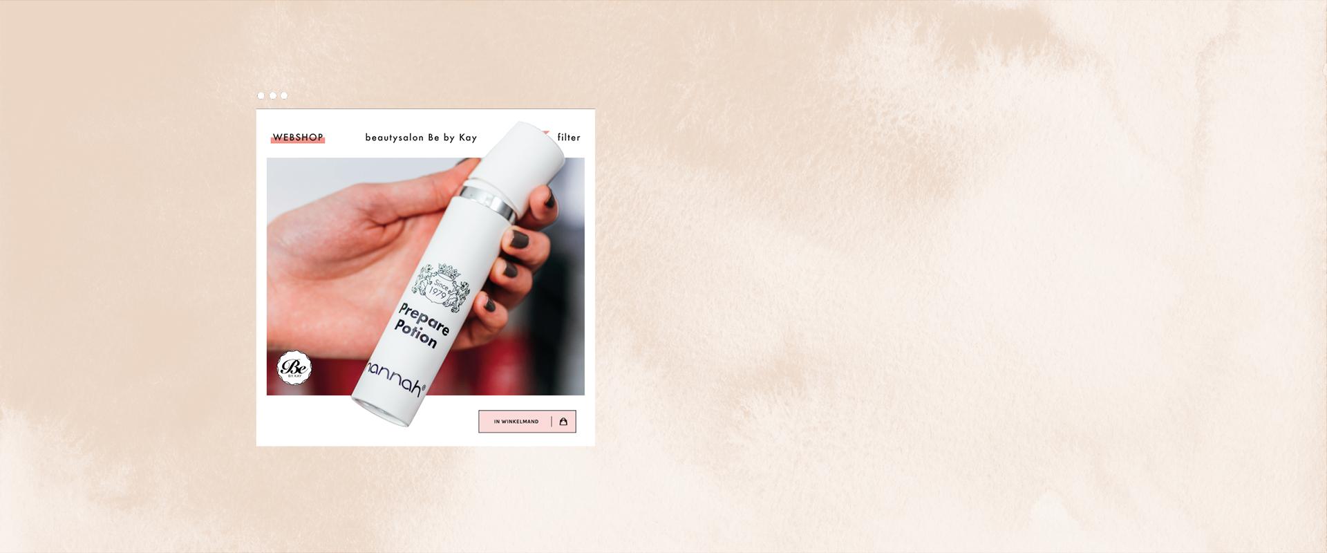 bebykay producten hannah gezicht webshop
